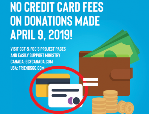 No Credit Card Fee Donation Day